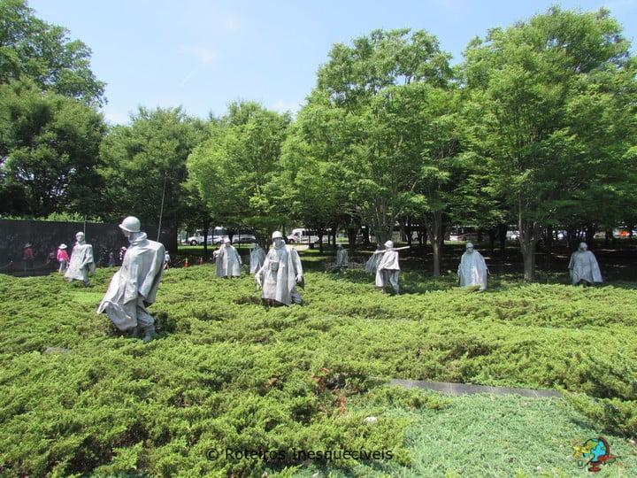 Korean War Memorial - Washington - Estados Unidos