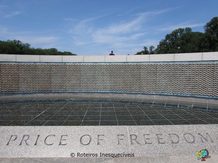 Memorial da Segunda Guerra - Washington - Estados Unidos