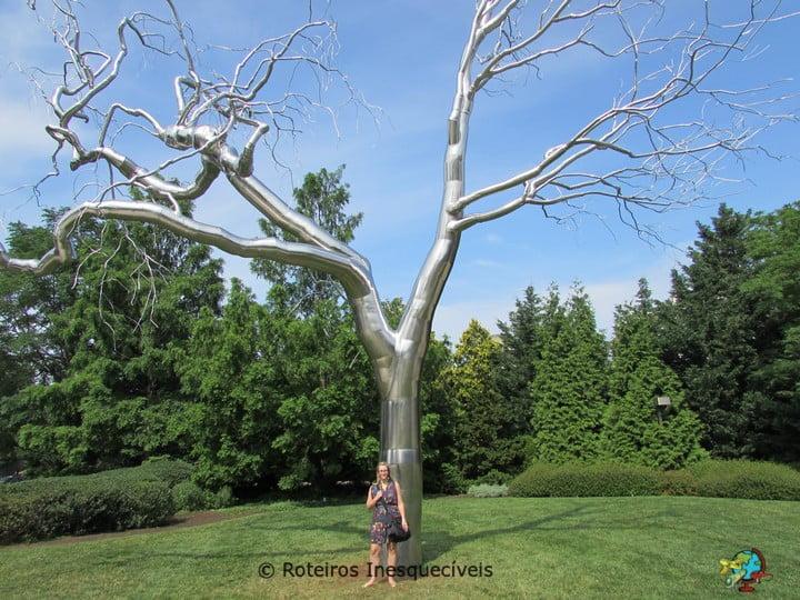 Jardins do National Art Gallery - Washington - Estados Unidos