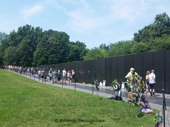 Vietnam Memorial - Washington - Estados Unidos