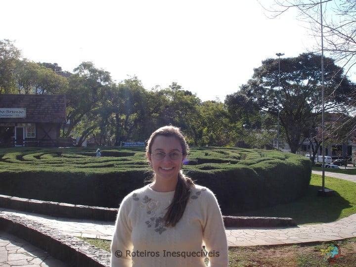 Labirinto - Nova Petropolis - Serra Gaucha