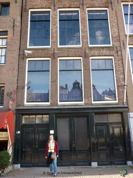 Museu Anne Frank - Amsterdam - Holanda
