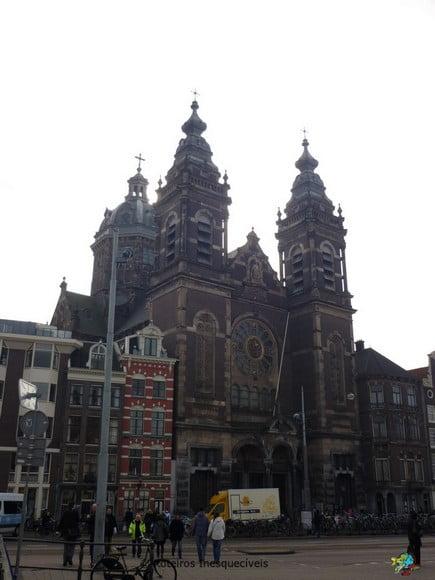 Basilica de Sao Nicolas - Amsterdam - Holanda