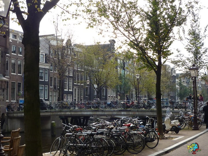 Canais - Amsterdam - Holanda