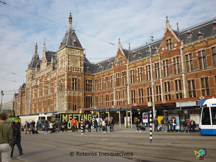 Centraal Station - Amsterdam - Holanda