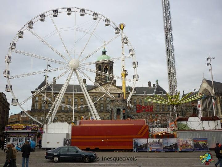 Palacio Real - Dam Square - Amsterdam - Holanda