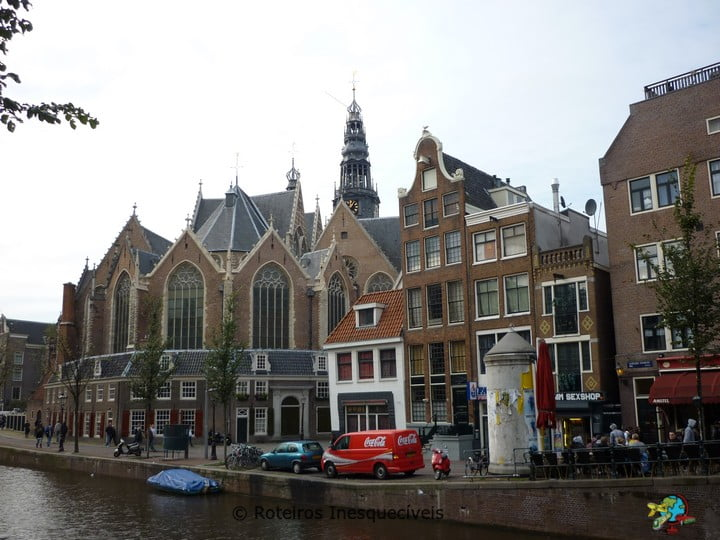 Oude Kerk - Amsterdam - Holanda