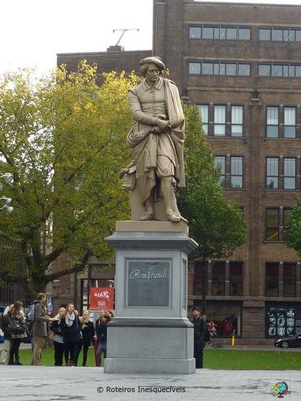 Rembrandtplein - Amsterdam - Holanda