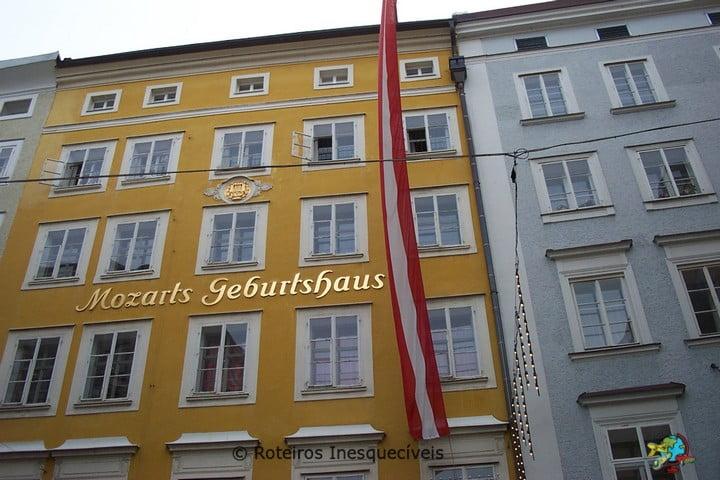 Mozarts Geburtshaus - Salzburg - Austria