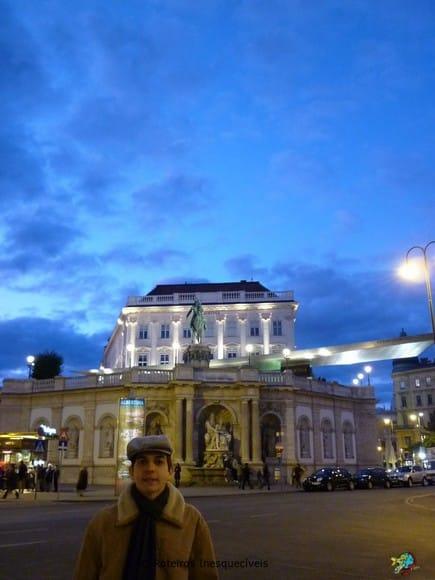 Albertinaplatz - Viena - Austria