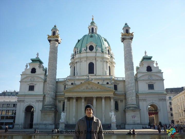 Karlskirche - Viena - Austria