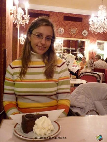 Cafe Sacher - Viena - Austria