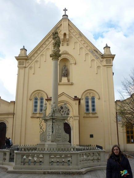 Kostol svätého Jána z Mathy - Bratislava
