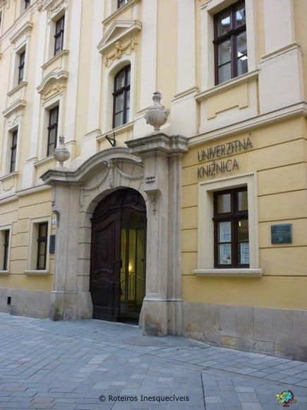 Univerzitná knižnica - Bratislava