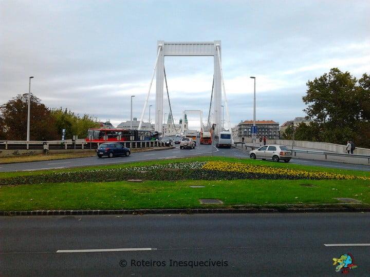 Erzsébet híd - Budapeste - Hungria
