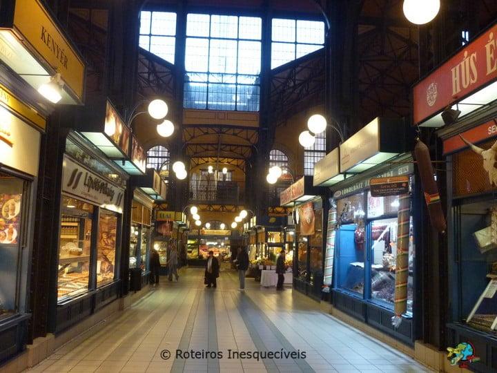 Központi Vásárcsarnok - Budapeste - Hungria