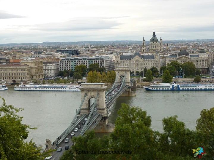 Széchenyi Lánchíd - Budapeste - Hungria
