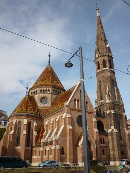 Szilágyi Dezső téri református templom - Budapeste - Hungria