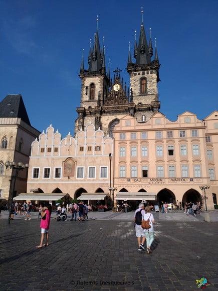 Chrám Matky Boží před Týnem - Praga - Republica Tcheca
