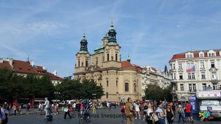 Chrám svatého Mikuláše - Praga - Republica Tcheca