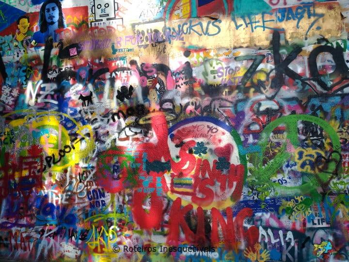 Lennonova zeď - Praga - Republica Tcheca