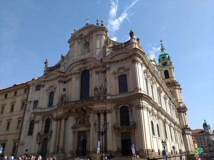 Kostel sv. Mikuláše - Praga - República Tcheca