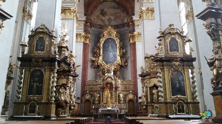 Kostel svatého Jiljí - Praga - Republica Tcheca