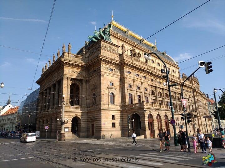 Národní divadlo - Praga - Republica Tcheca