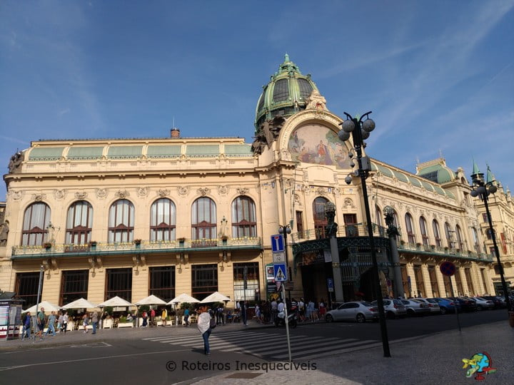 Obecní dům - Praga - Republica Tcheca