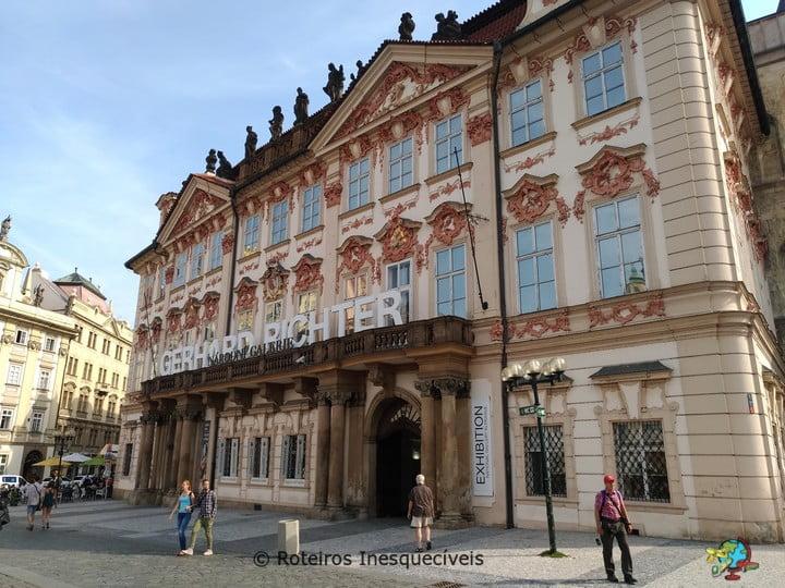 Palác Kinských - Praga - Republica Tcheca