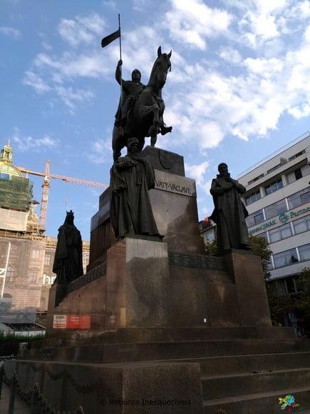 Pomnik Svateho Vaclava - Praga - Republica Tcheca