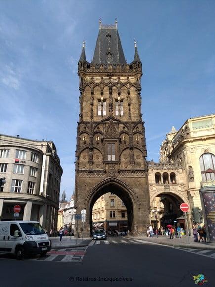 Prašná brána - Praga - Republica Tcheca