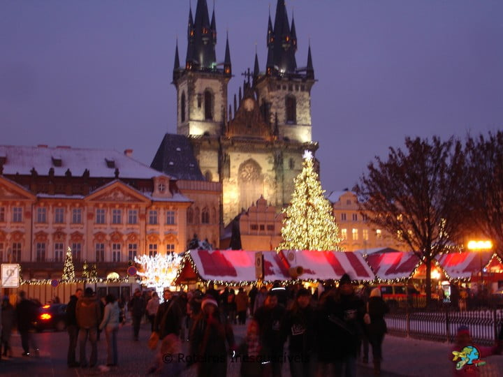 Staroměstské náměstí - Praga - Republica Tcheca