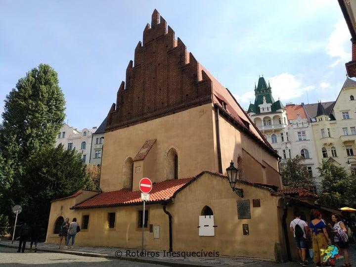 Staronová Synagoga - Praga - Republica Tcheca