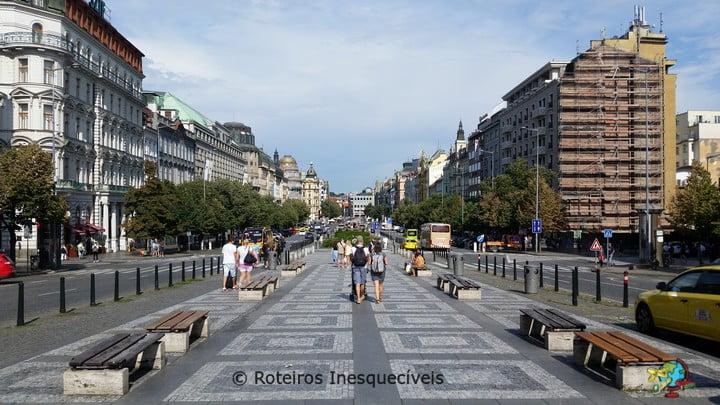 Václavské náměstí - Praga - Republica Tcheca