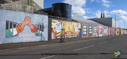 Murais - Belfast - Irlanda do Norte