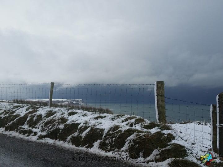 Coastal Causeway - Irlanda do Norte - Reino Unido
