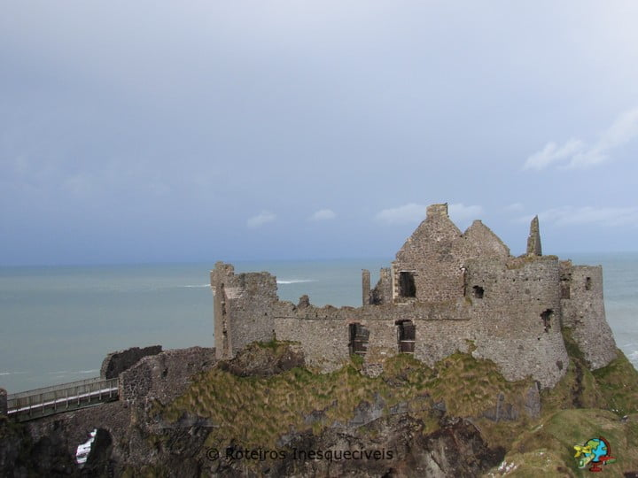 Dunluce Castle - Coastal Causeway - Irlanda do Norte - Reino Unido