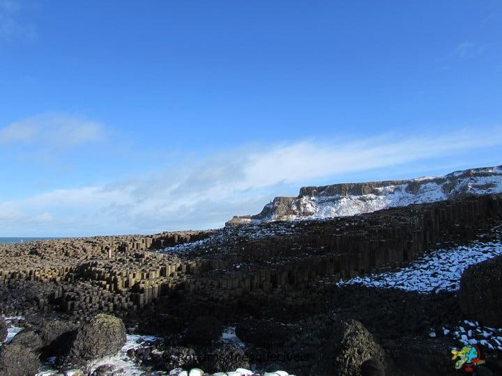 Giants Causeway - Coastal Causeway - Irlanda do Norte - Reino Unido