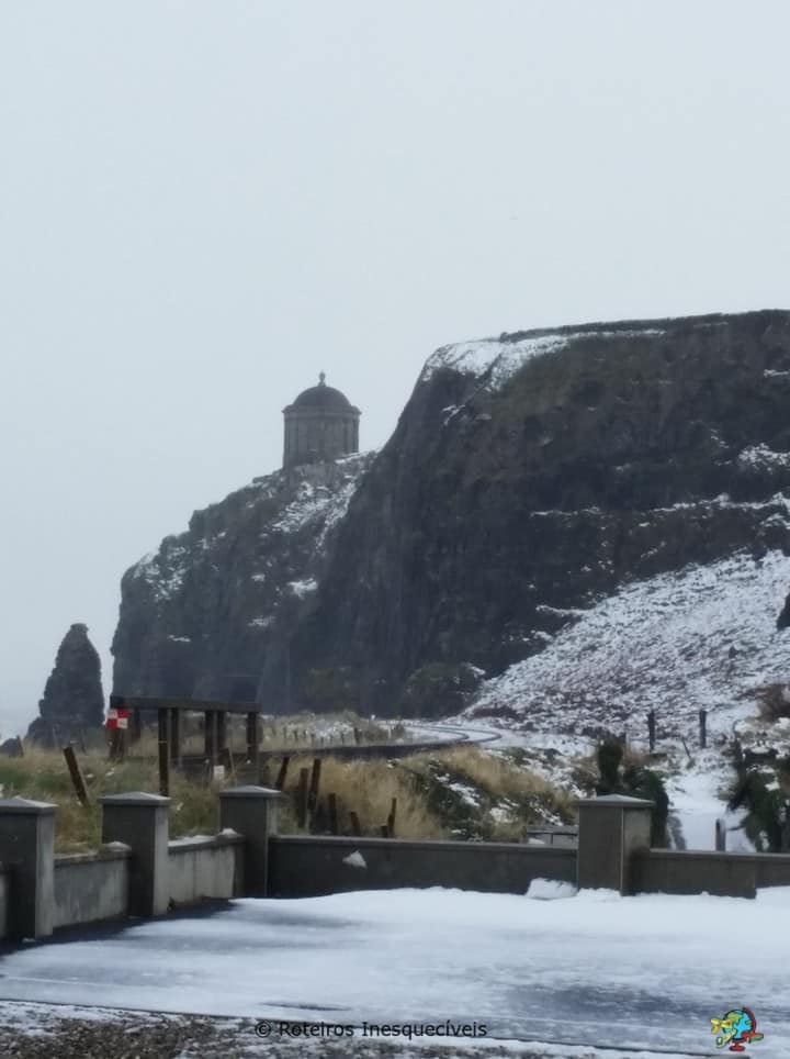 Mussenden Temple - Coastal Causeway - Irlanda do Norte - Reino Unido