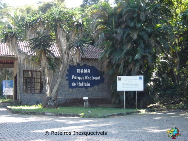 Entrada - Parque Nacional de Itatiaia