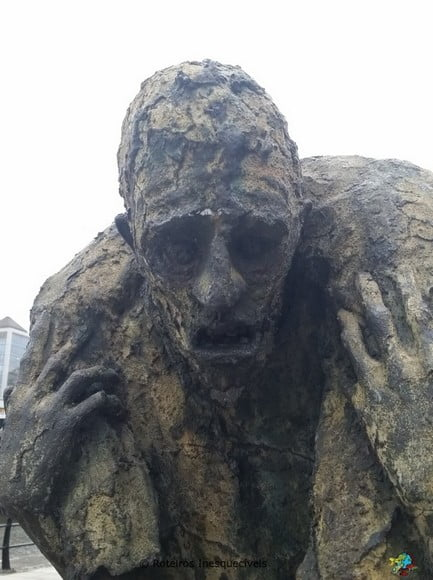 Famine Monument - Dublin - Irlanda