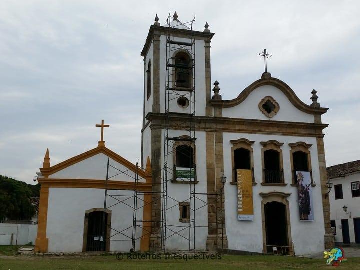 Igreja Santa Rita - Centro Historico - Paraty - Rio de Janeiro