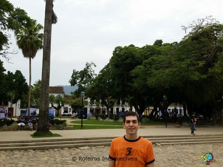 Praca Matriz - Centro Historico - Paraty - Rio de Janeiro