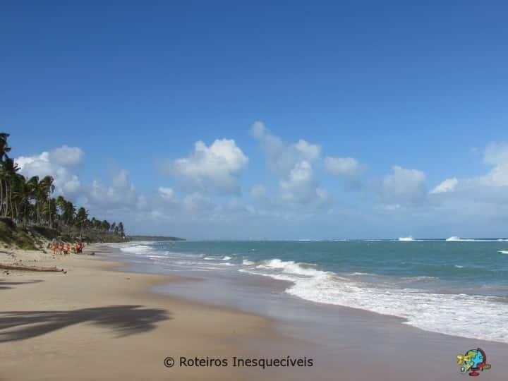 Praia do Frances - Litoral Sul de Maceio - Alagoas