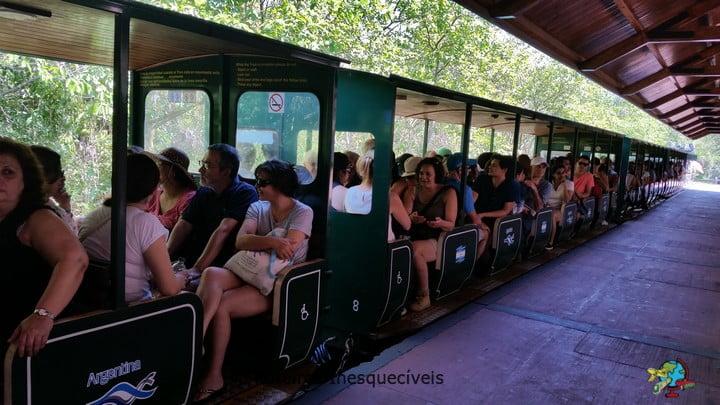 Trem - Parque Nacional Iguazu - Argentina