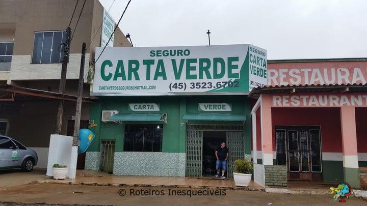 Seguro Carta Verde - Foz do Iguacu - Parana