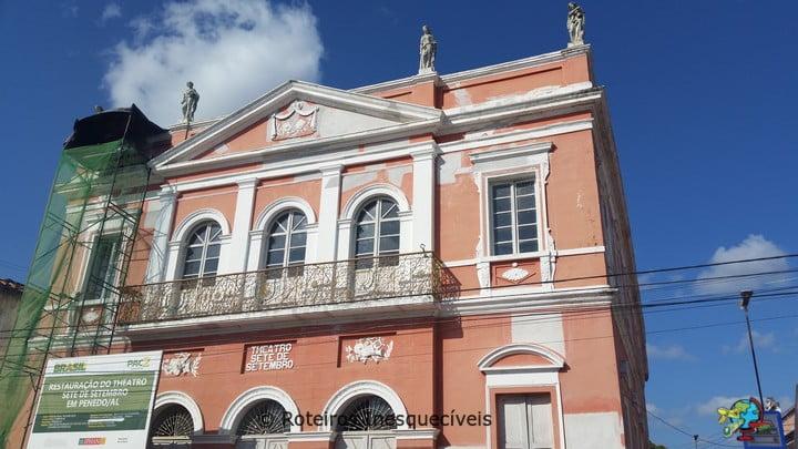 Teatro Sete de Setembro - Penedo - Alagoas