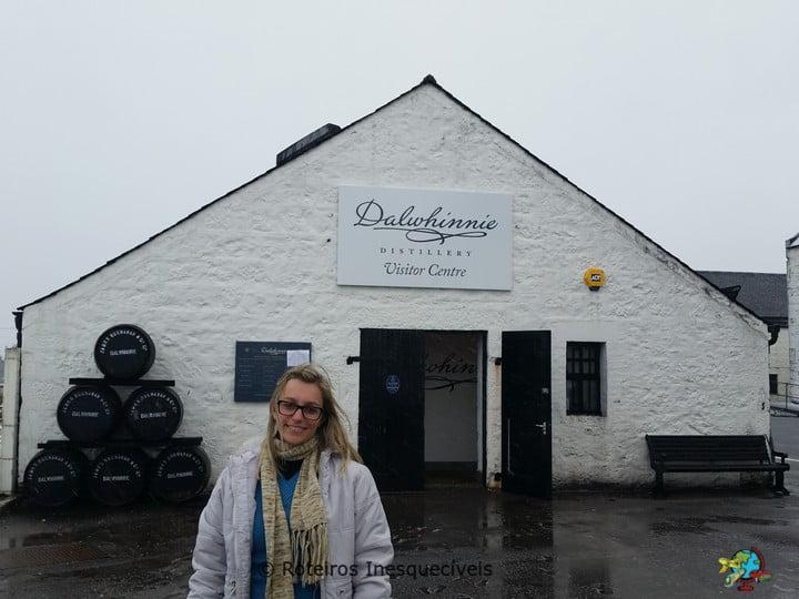 Destilaria Dalwhinnie - Highlands - Escocia