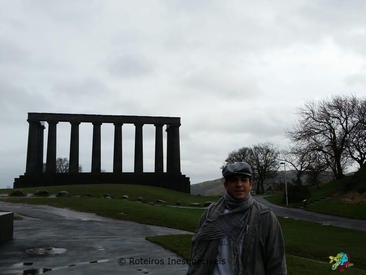 National Monument - Calton Hill - Edimburgo - Escocia